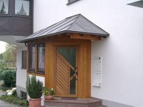 überdachungen Eingangsbereich vordächer überdachung holzbau bühler mit zimmerei bad bellingen